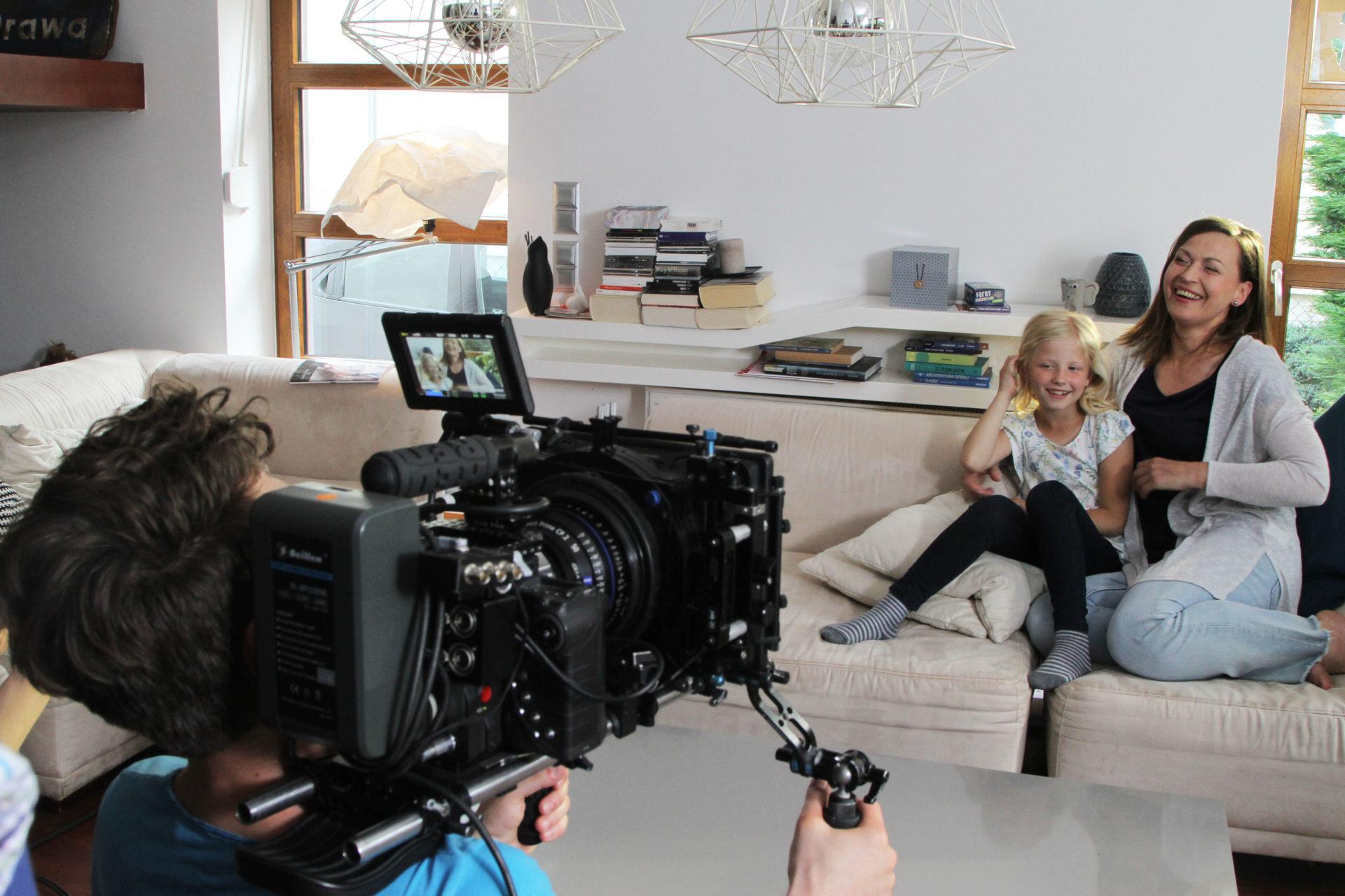 Kidea - zdjęcie z produkcji reklamy TV