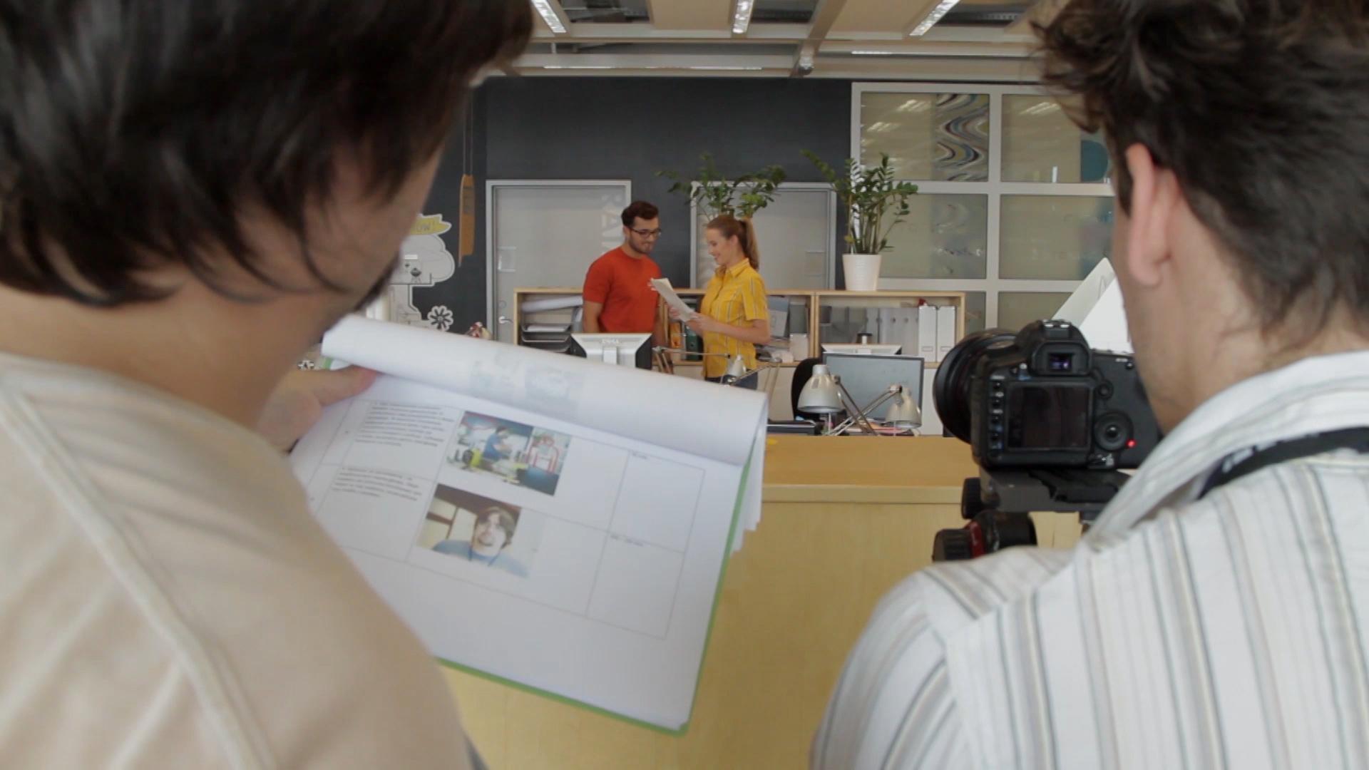 kadr z planu do filmu dla Ikea
