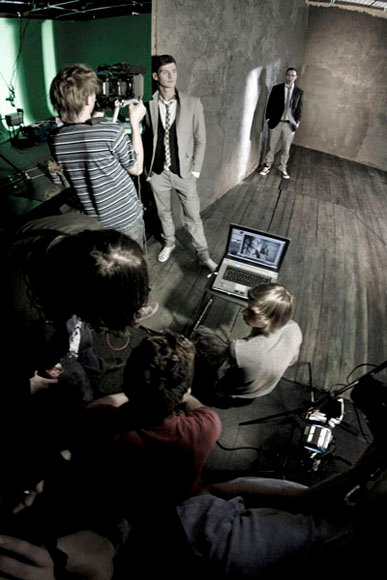 zdjęcie making of teledysk Audiofeels Nothing else matters