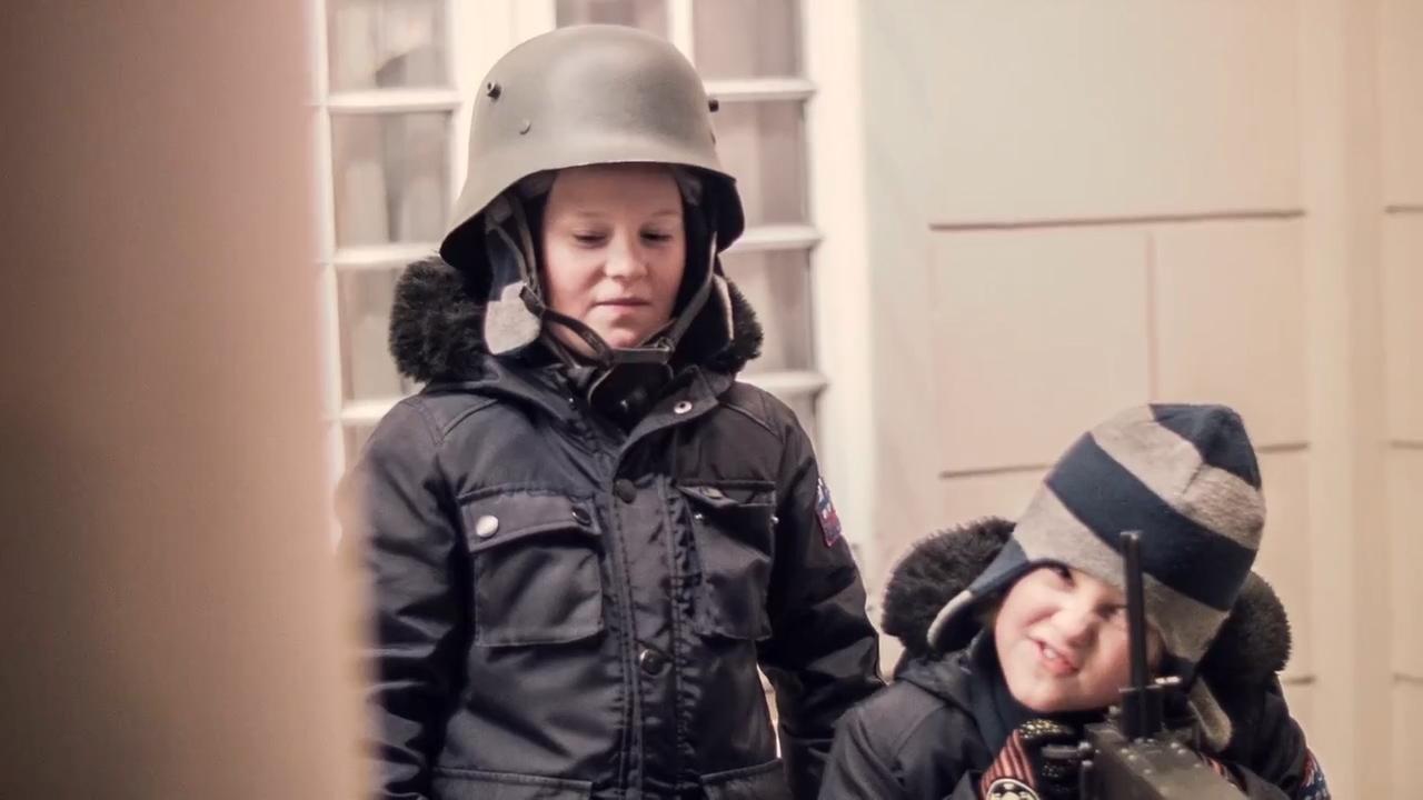 kadr z filmu Poszukiwany Hipolit Cegielski - Powstanie Wielkopolskie