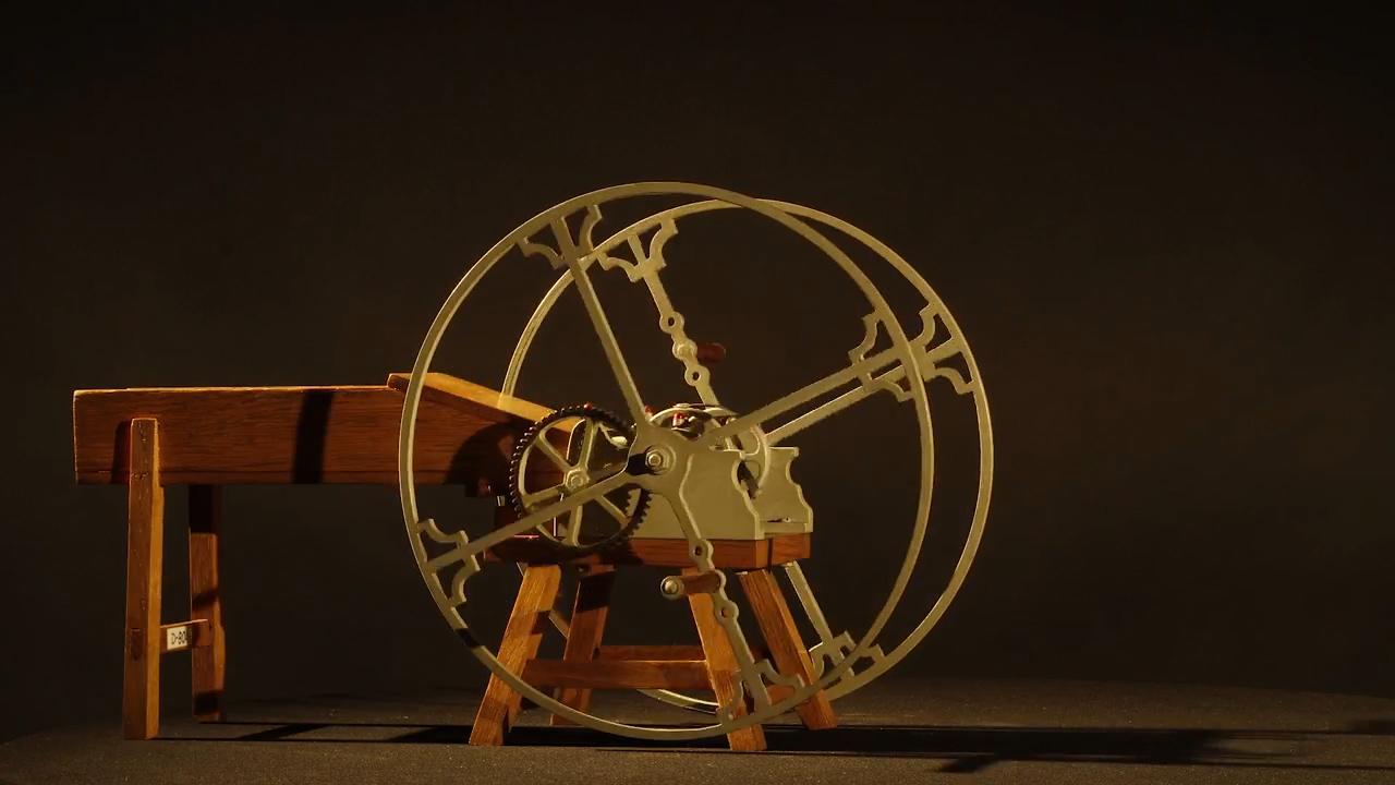 model maszyny przemysłowej Hipolit Cegielski