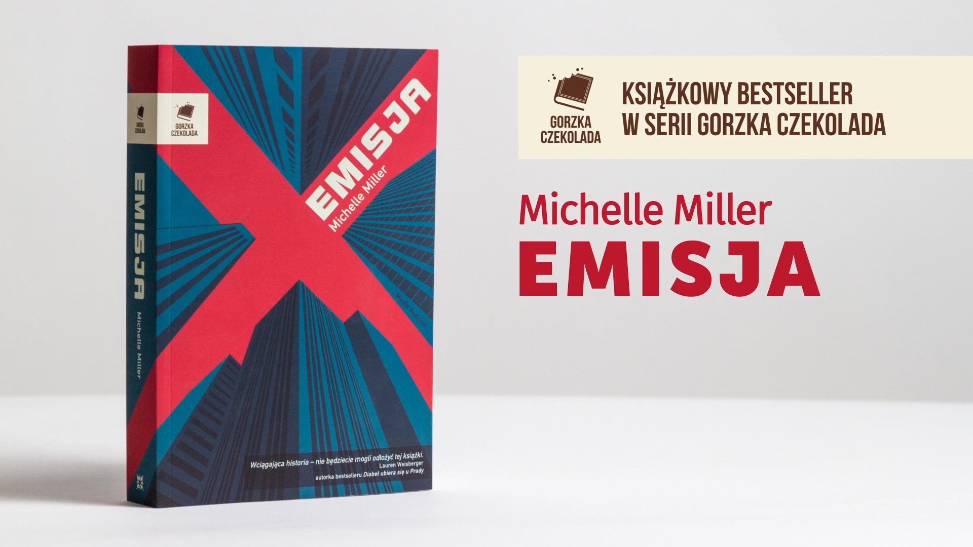 grafika książka Emisja Michelle Miller