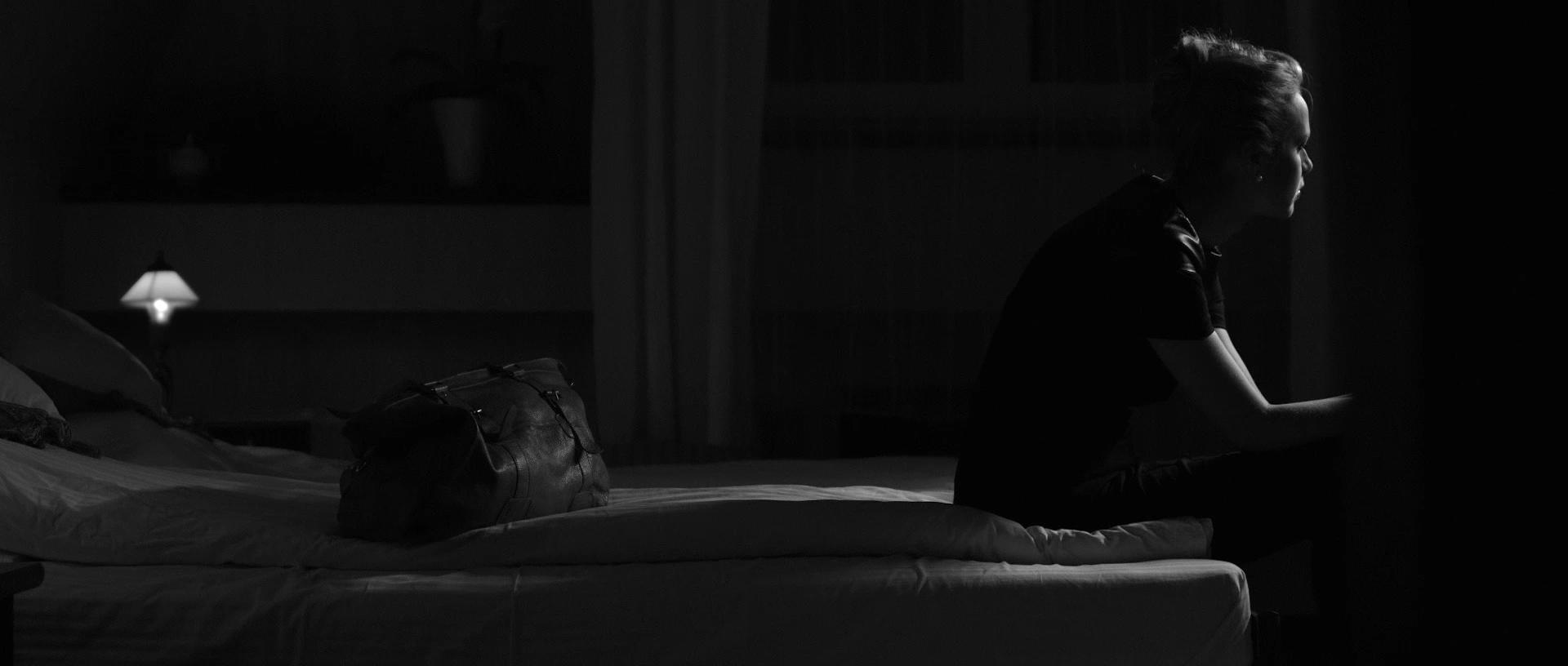 kadr z filmu Paranoia - Magdalena Mielcarz