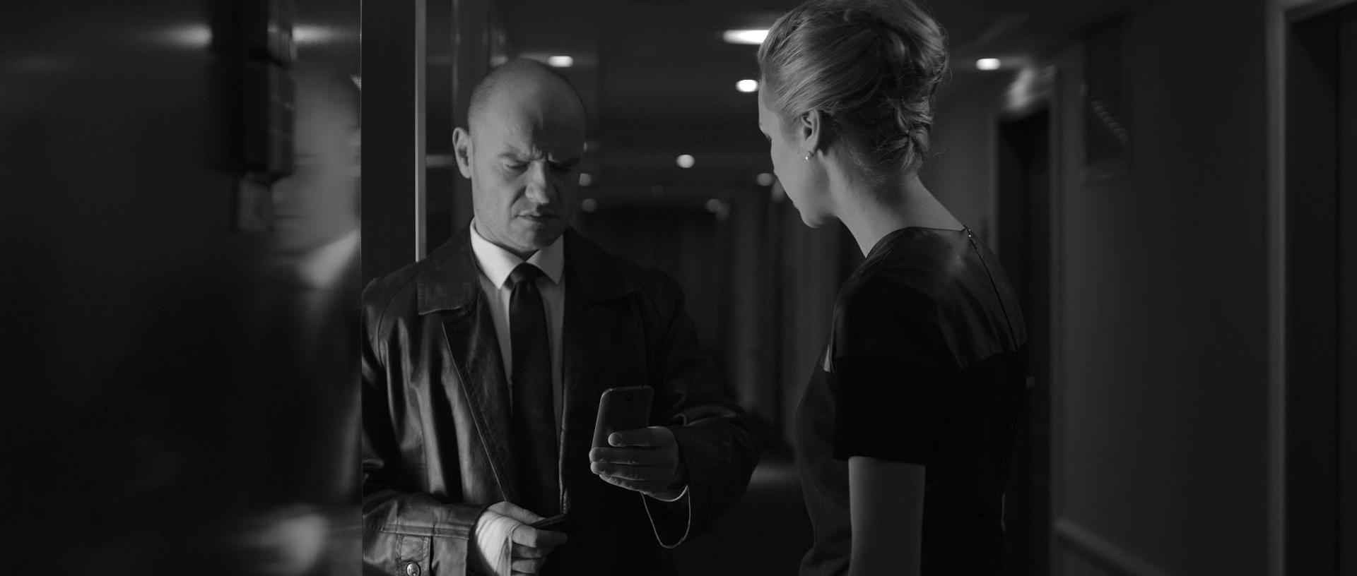 kadr z filmu Paranoia - Mielcarz i Klynstra