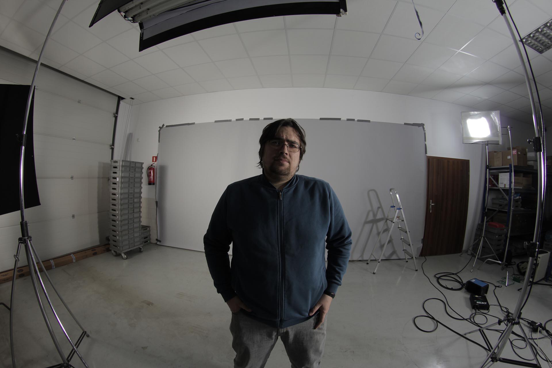 zdjęcie making of z filmu Cembrit test
