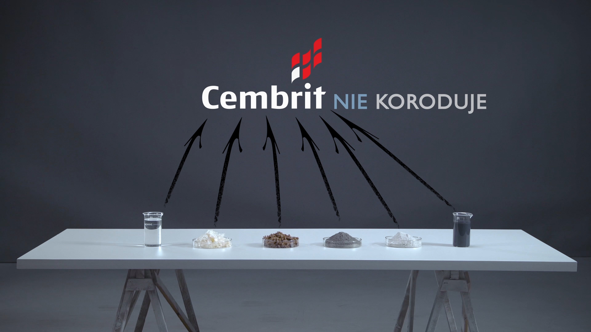 kadr z filmu Cembrit test