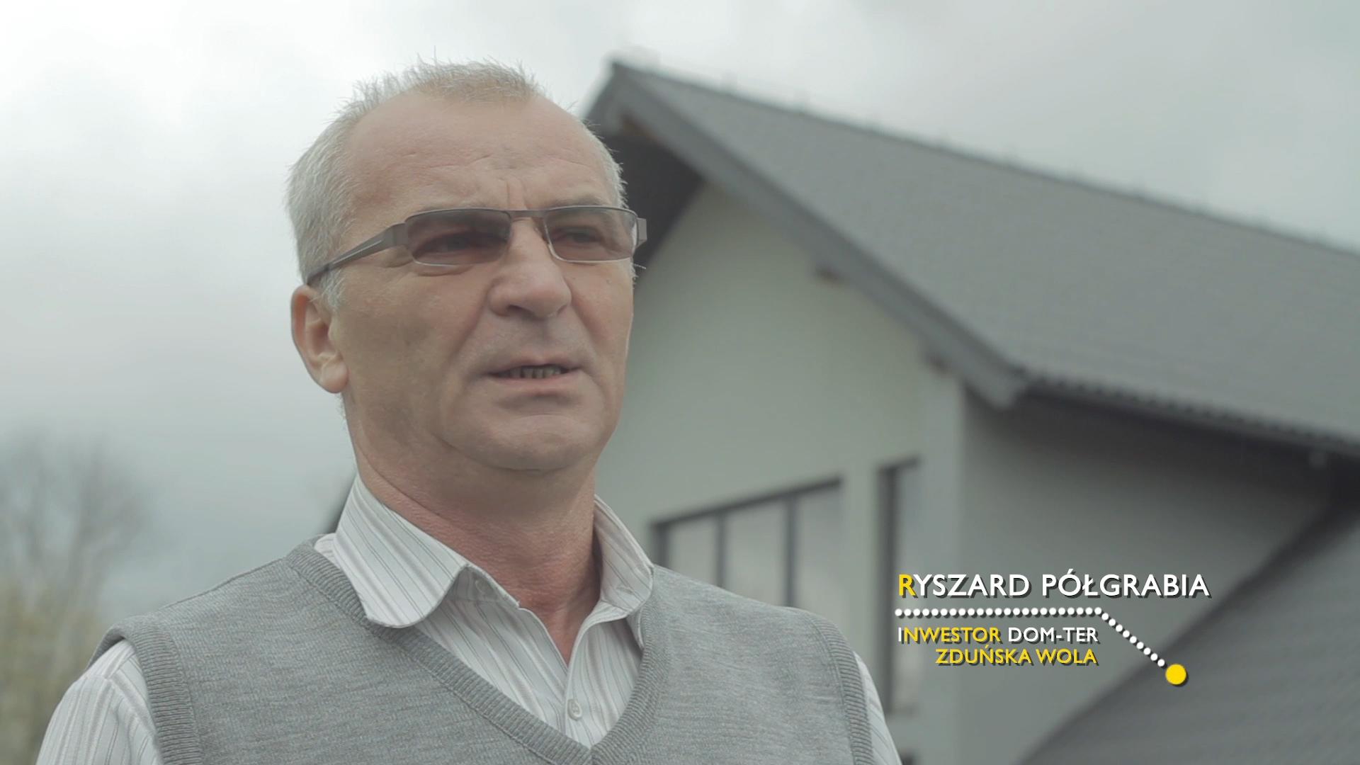 kadr z filmu Cembrit referencje Ryszard Półgrabia