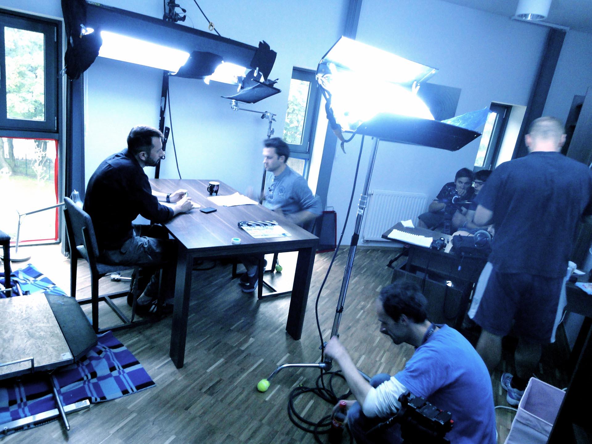 zdjęcia making of film De facto