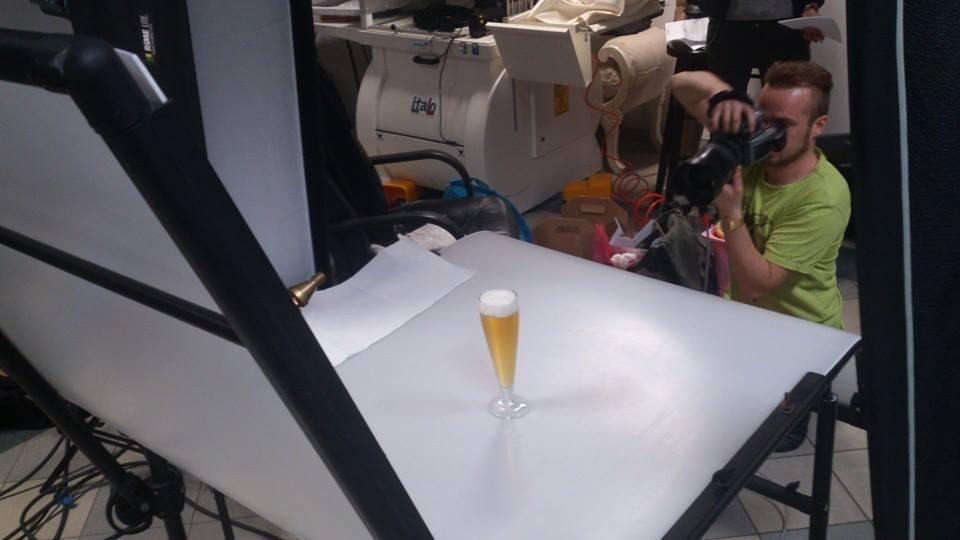 zdjęcie making of z sesji Ikea