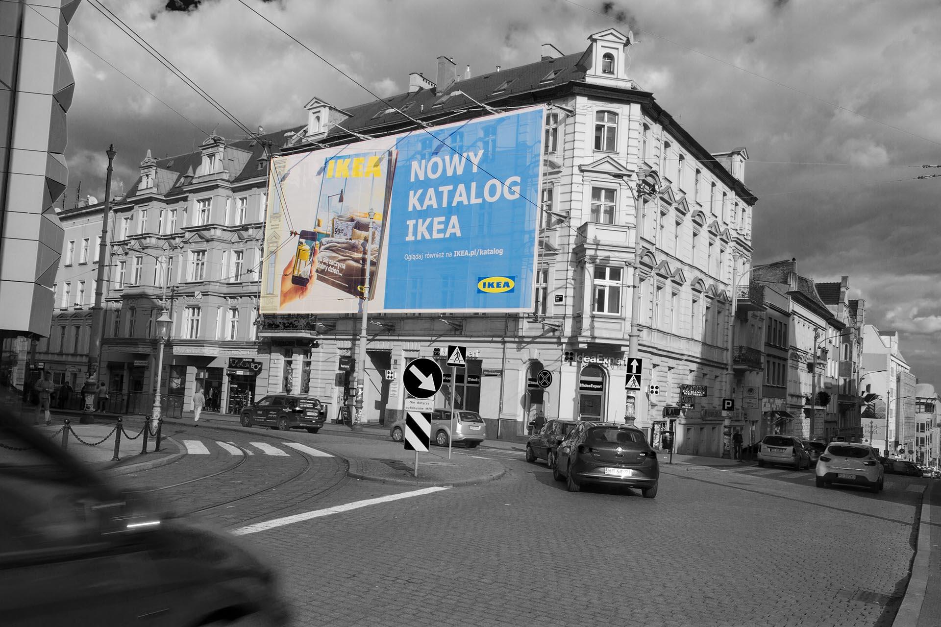 billboard katalog Ikea