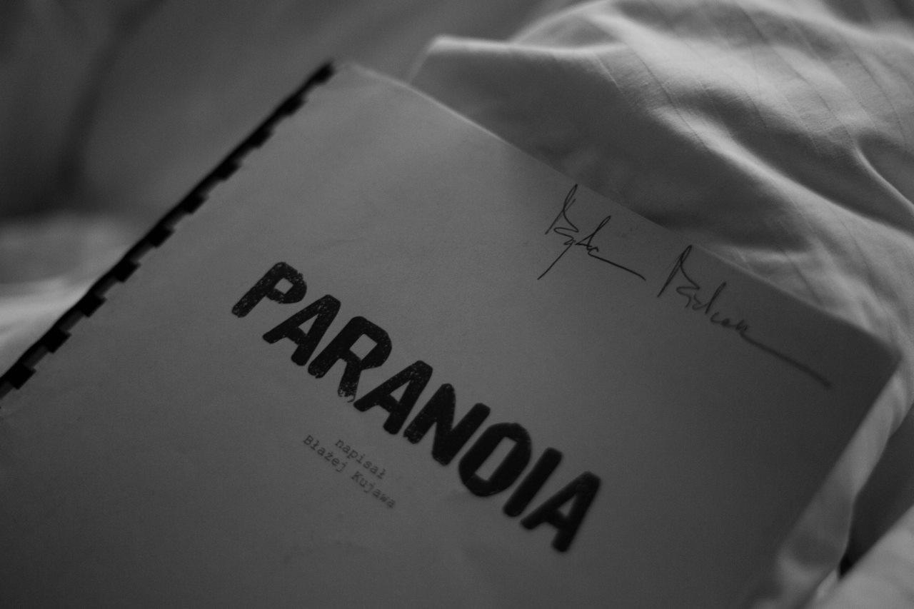 zdjęcia making of film Paranaia - scenariusz