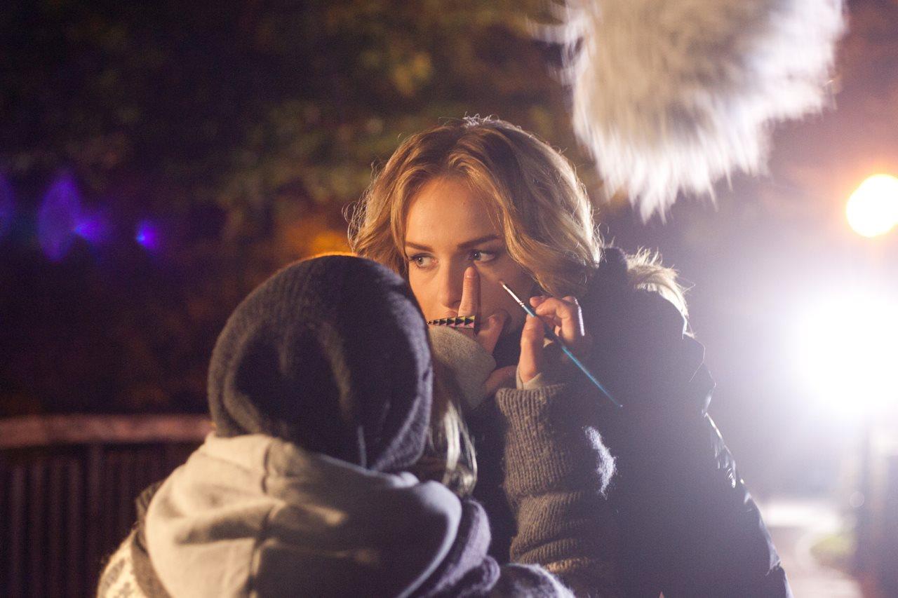 zdjęcia making of film Paranaia - Magdalena Mielcarz
