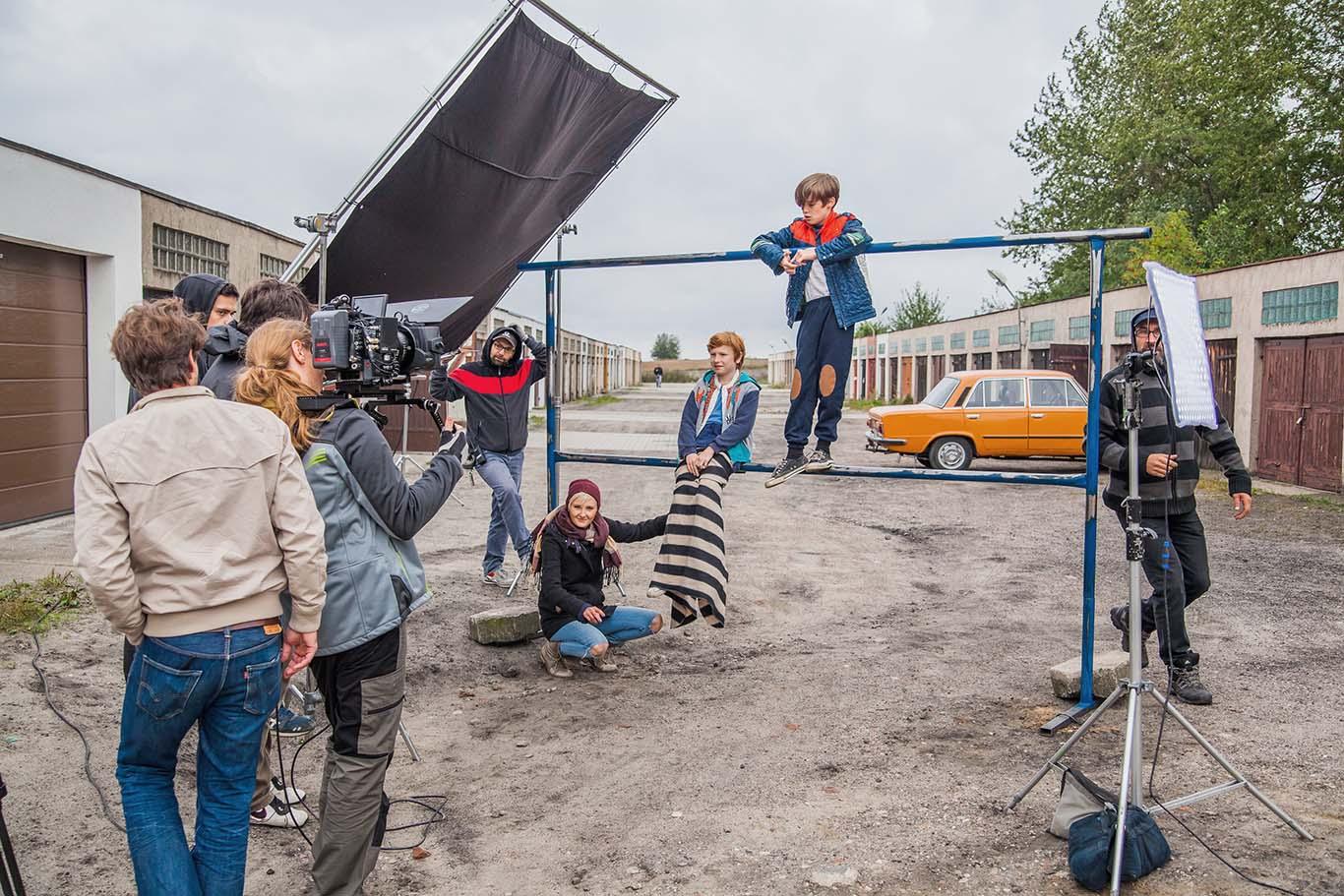 Moya - zdjęcie z produkcji reklamy