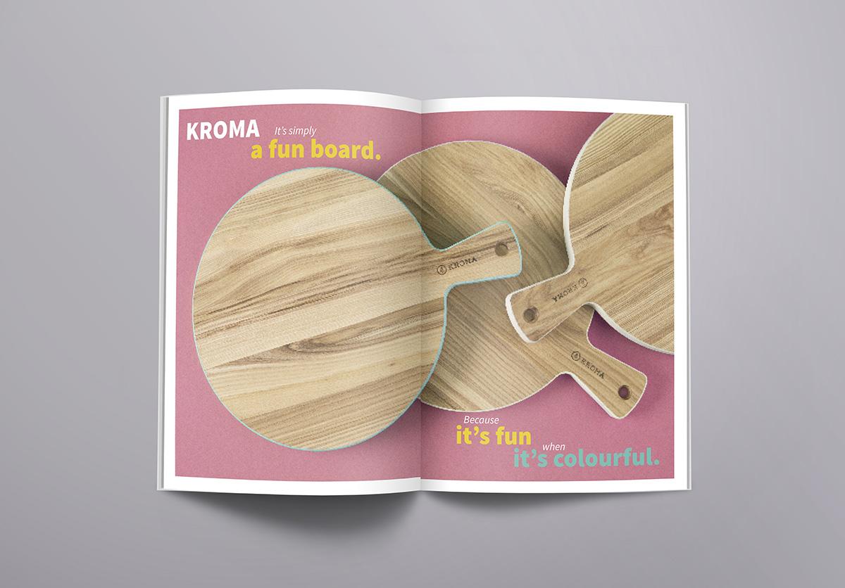zdjęcie kolorowego katalogu Kroma